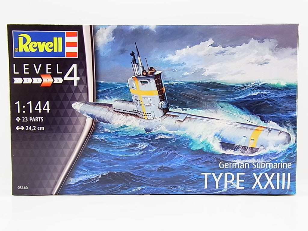 Revell German Submarine TYPE XXIII 1:144 Revell 05140  X