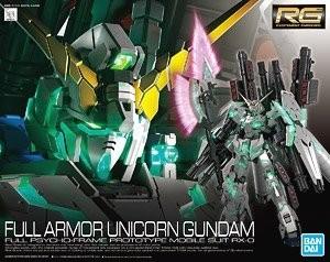 RG Gundam Unicorn Full Amror