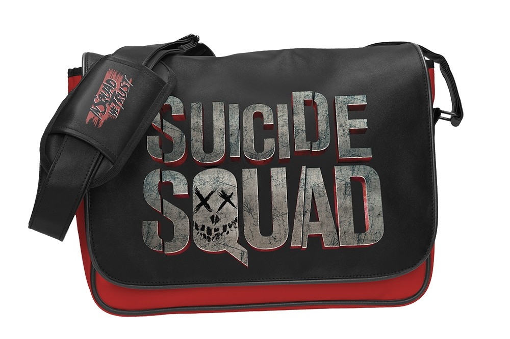 Suicide Squad Logo Mailbag with flap