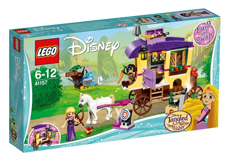 Lego Disney Princess Caravan Rapunzel