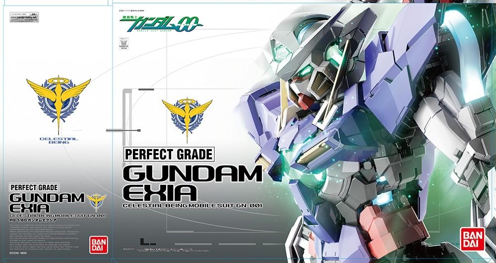 Gundam Exia Perfect Grade Bandai