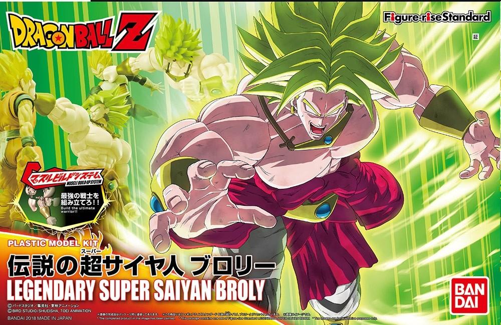 Figure Rise Leg Super Saiyan Broly Bandai