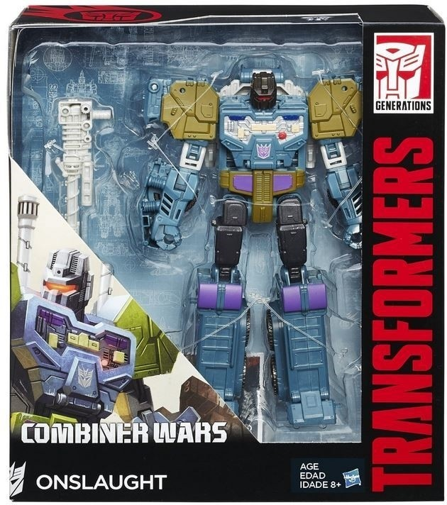 Transformers Combiner Wars Onslaught