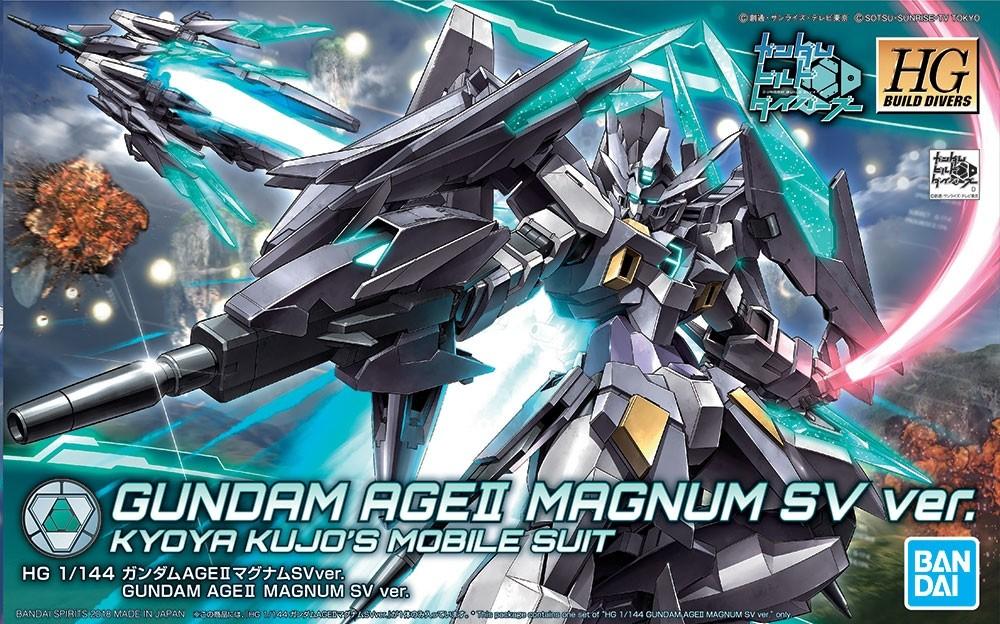 HGBD Gundam AGE 2 Magnum SV ver