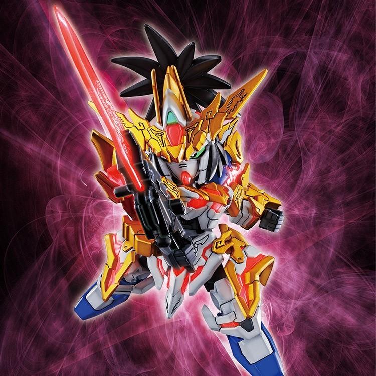 SD Sangoku Sokets Liu Bei Gundam Unicorn SD
