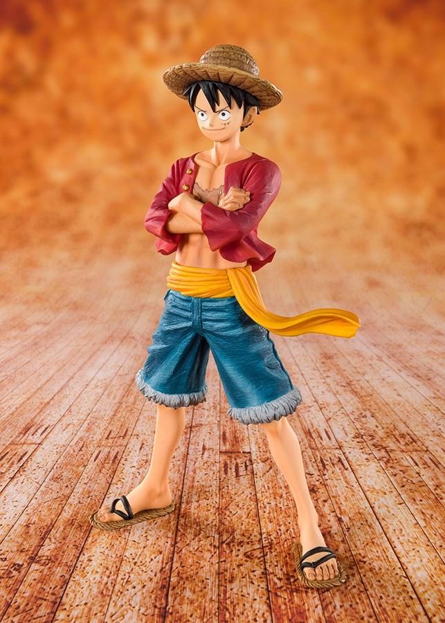 One Piece Zero Straw Hat Luffy Figuarts Zero