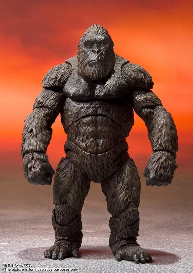 Godzilla VS Kong Kong Monsterarts