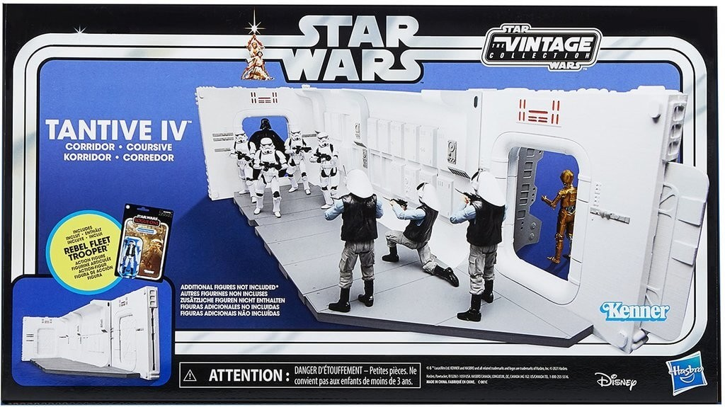 Star Wars Vintage Tantive IV Corridor Diorama