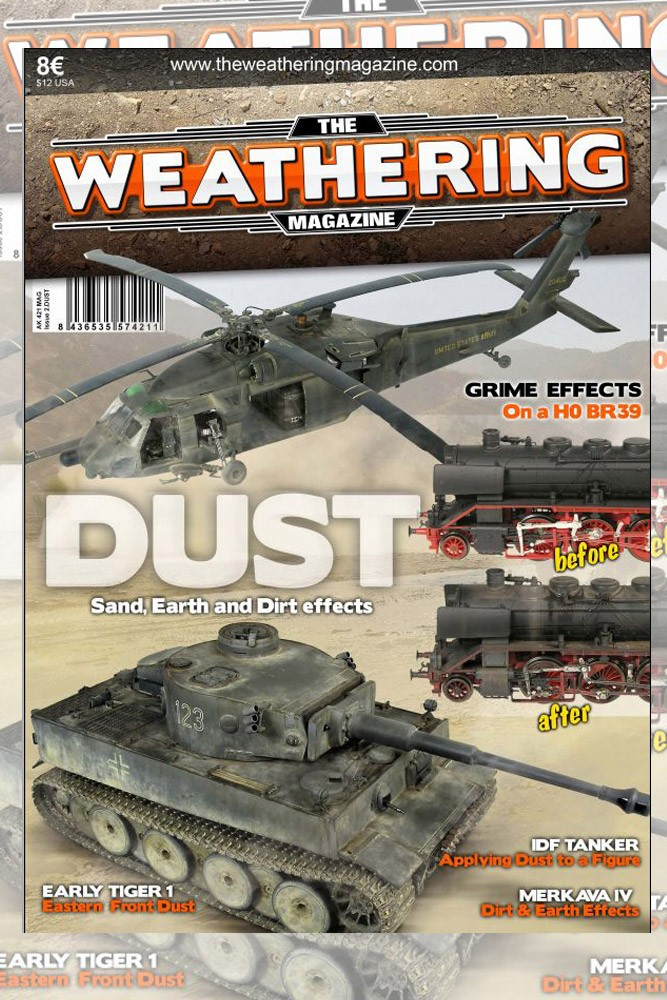 The weathering mag 2 dust English version reprint