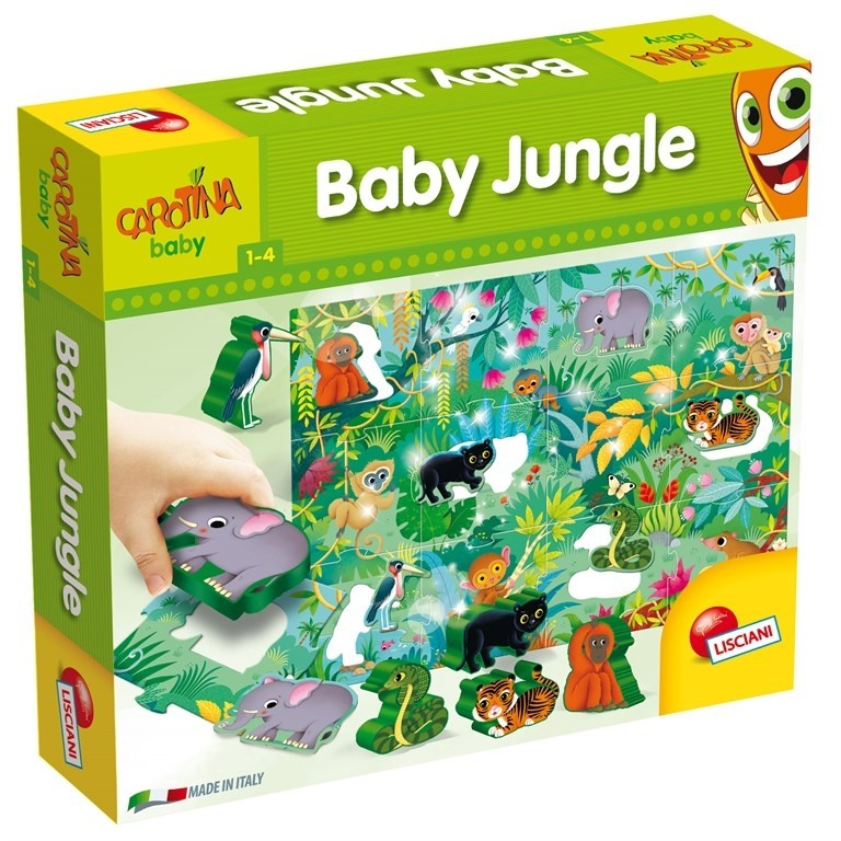 Baby Jungle Puzzle Lisciani