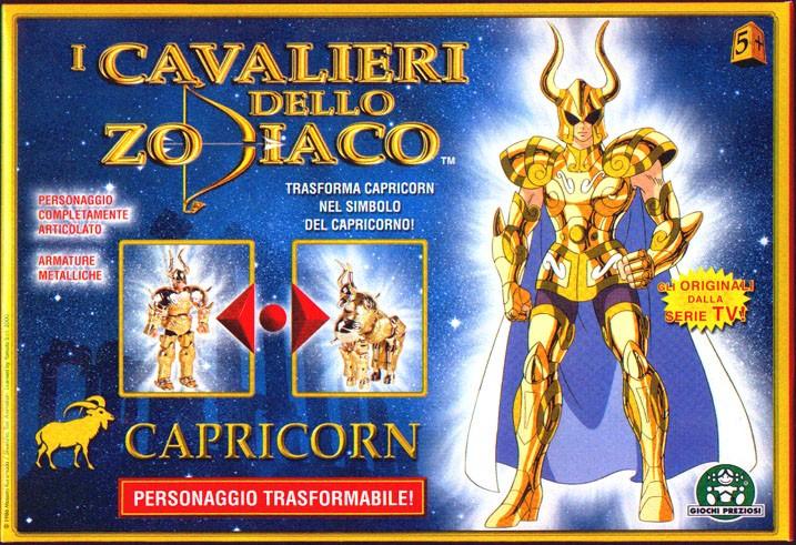 Cavalieri dello zodiaco Capricorn Giochi Preziosi