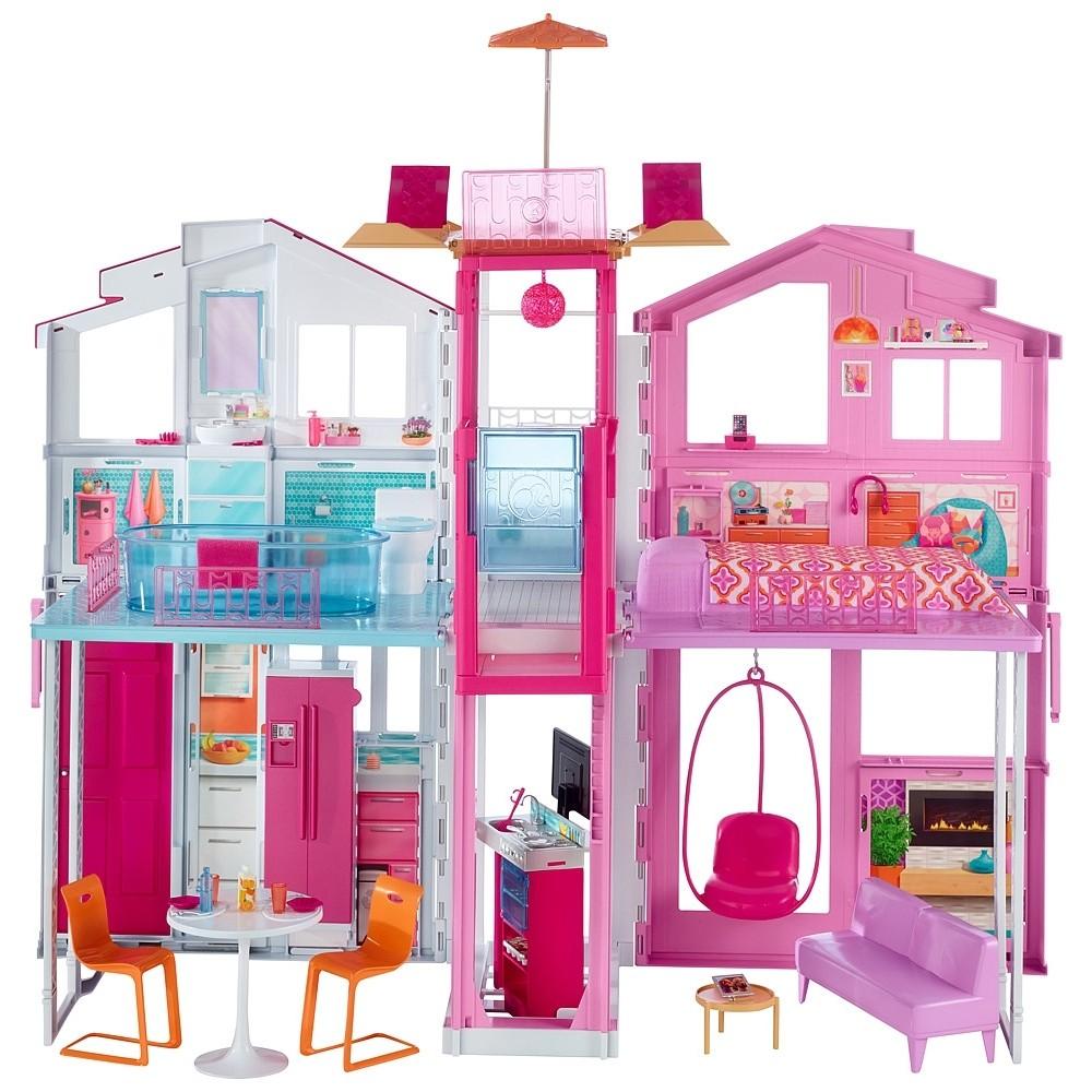 Barbie casa a 3 piani Mattel