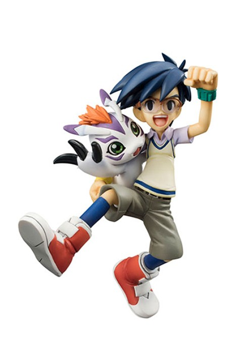 Digimon ADV Joe & Gomamon Gem statue Megahouse