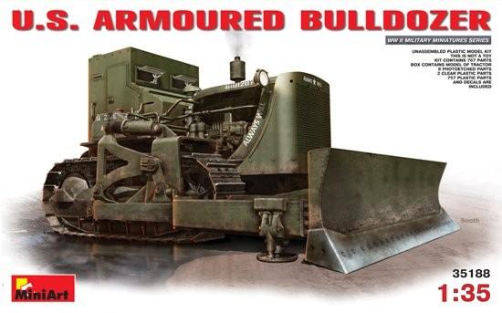 U.S. Armoured Bulldozer