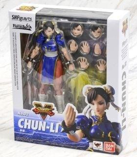 Street Fighter 5 Chun Figuarts Bandai