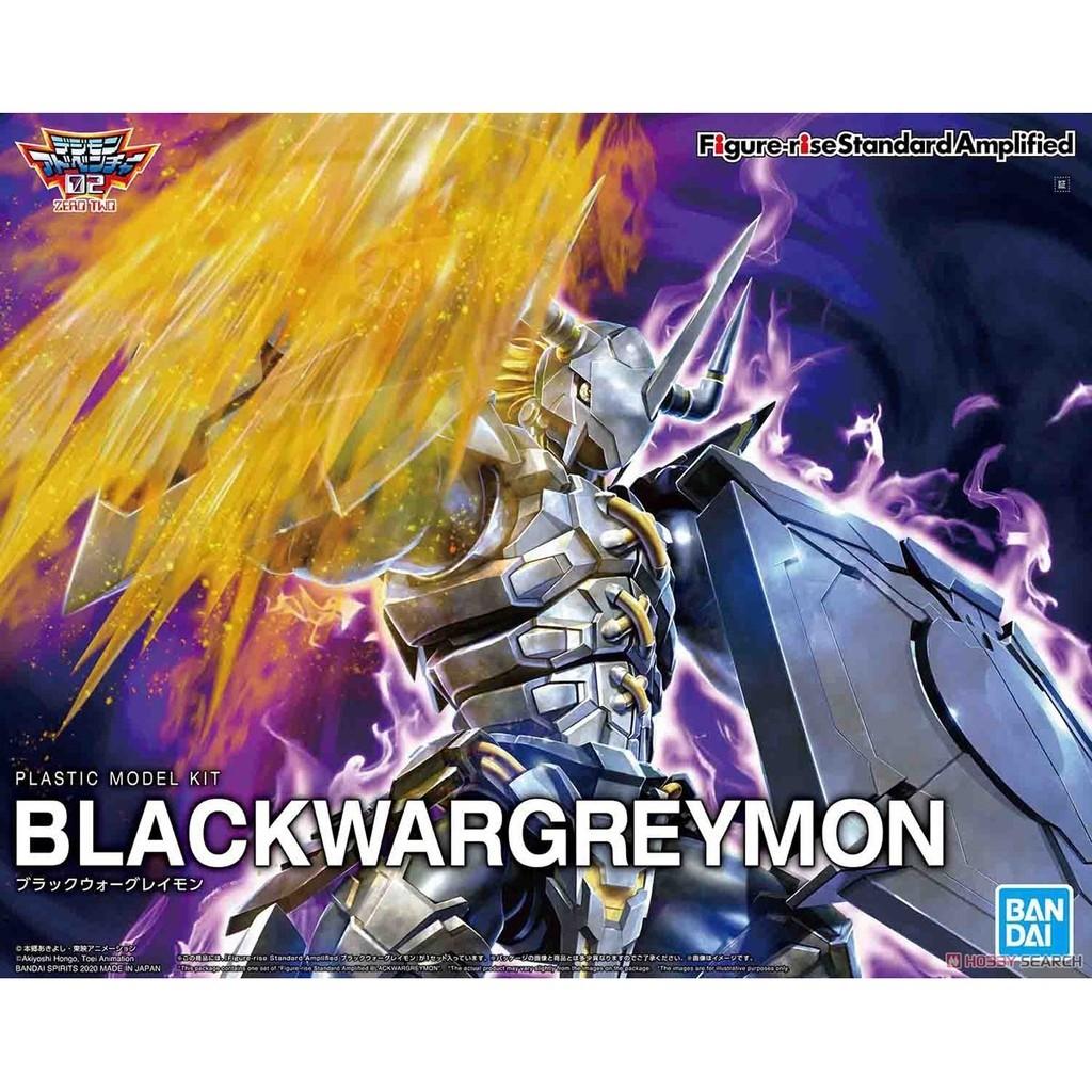 Figure Rise Amplified Blackwargreymon