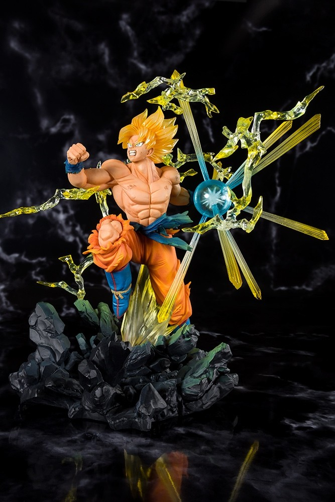 Dragon Ball Z Super Saiyan Son Gokou Battle Zero Figuarts