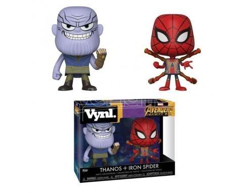 Marvel Avengers Infinity war Thanos & Iron Spider