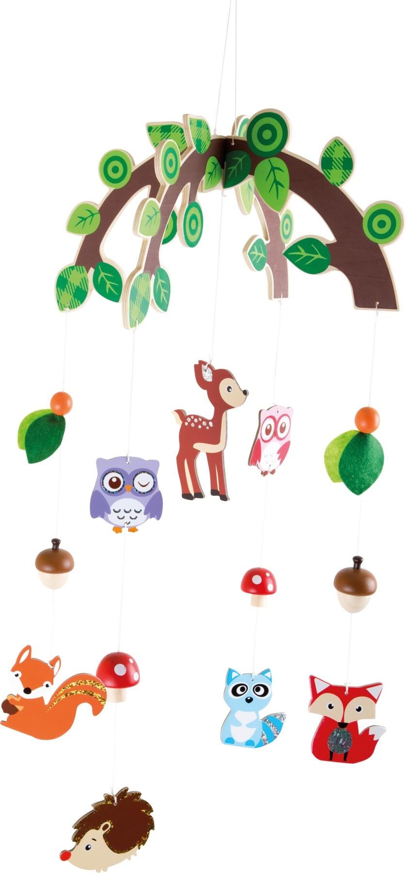 Giostrina animali del bosco