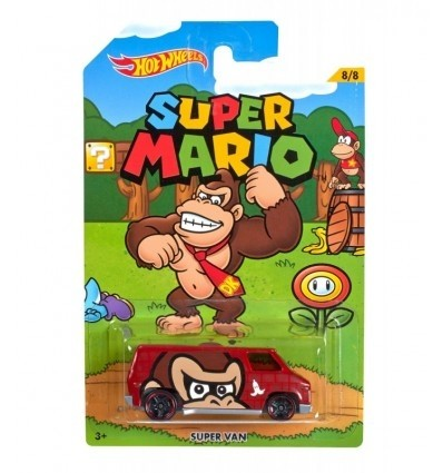 Mattel Super Mario Hot Wheels Super Van