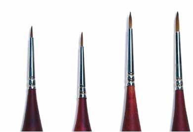 Sable Hair Brush Italeri 000