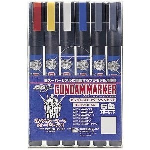 Gundam Marker GMS-109 Gundam Seed Set