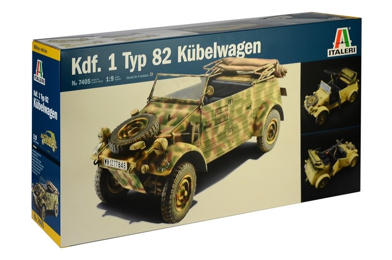 Kdf.1 Typ 82 Kübelwagen