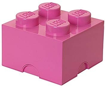Lego 4003 Storage Brick 4 Medium Bright Pink
