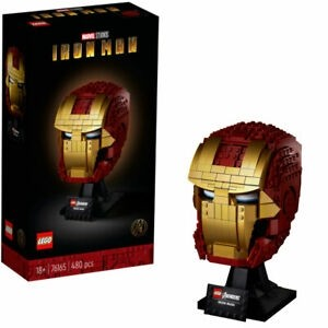 Iron Man Lego Head