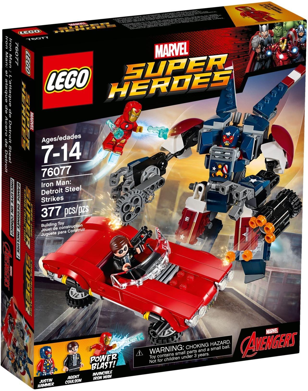 Iron Man destroit Street Strikes Lego