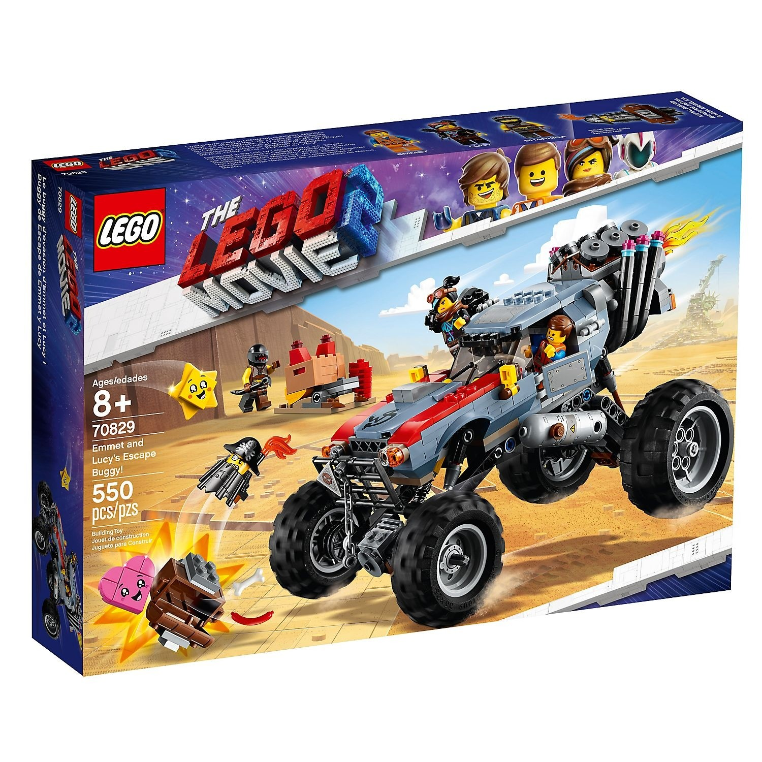 Lego the Movie Emmet and Lucy's Escape Buggy