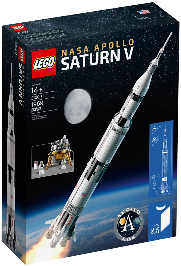 Lego Ideas Nasa Apollo 11 Saturn V