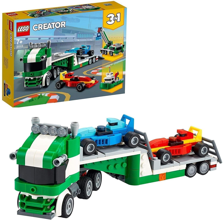 Lego Creator 31113 Trasportatore di auto da corsa
