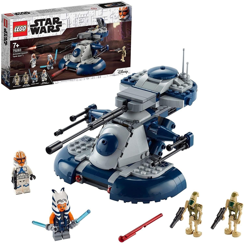LEGO- Star Wars TM Armored Assault Tank Giocattolo Ahsoka Tano e Il Suo Clone Trooper