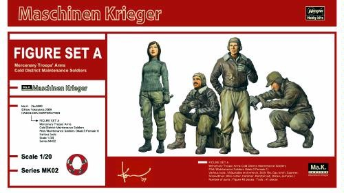Ma.K figure set A Mercenary Troops' Arms Cold District