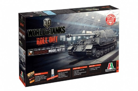 World of Tanks - Ferdinand Italeri