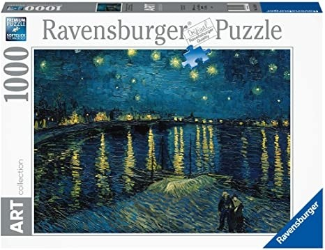 The Starry night over the rhone Ravensburger Puzzle 1000