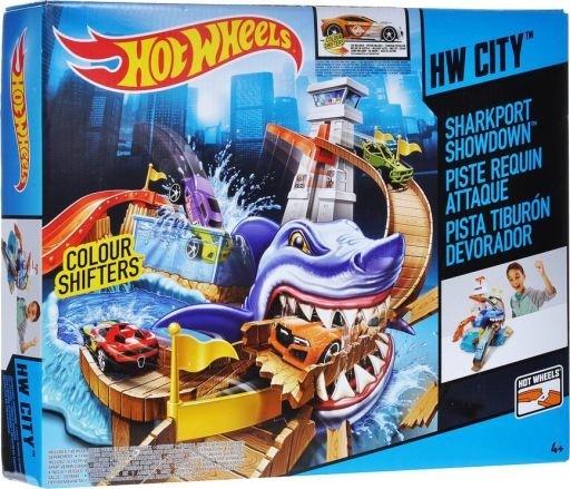 Pista Hotwheels Sharkport Showdown
