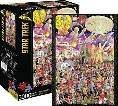 Star Trek 50th 3000 PCS Puzzle