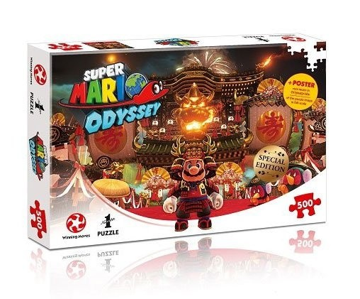Super Mario Odyssey Jigsaw Puzzle Bowser's Castle