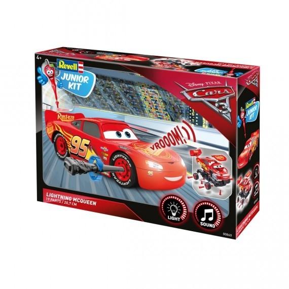 Cars 3 lightning mc queen-junior kit Revell