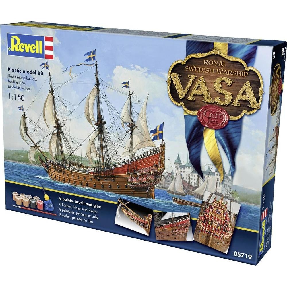 Gift-set Royal Swedish warship Vasa Revell