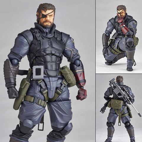 Revoltech Vulcanlog 002 Venom Snake Sneaking Suit ver.