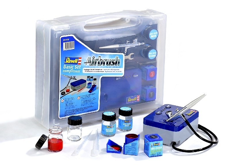 Basic set wth compressor standard class Revell