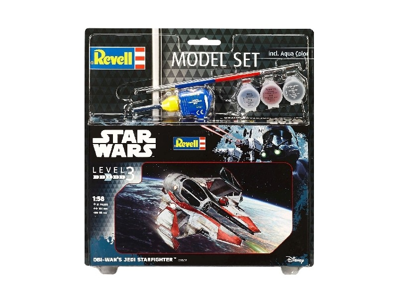 Model Set Obi-Wan's Jedi Star Fighter