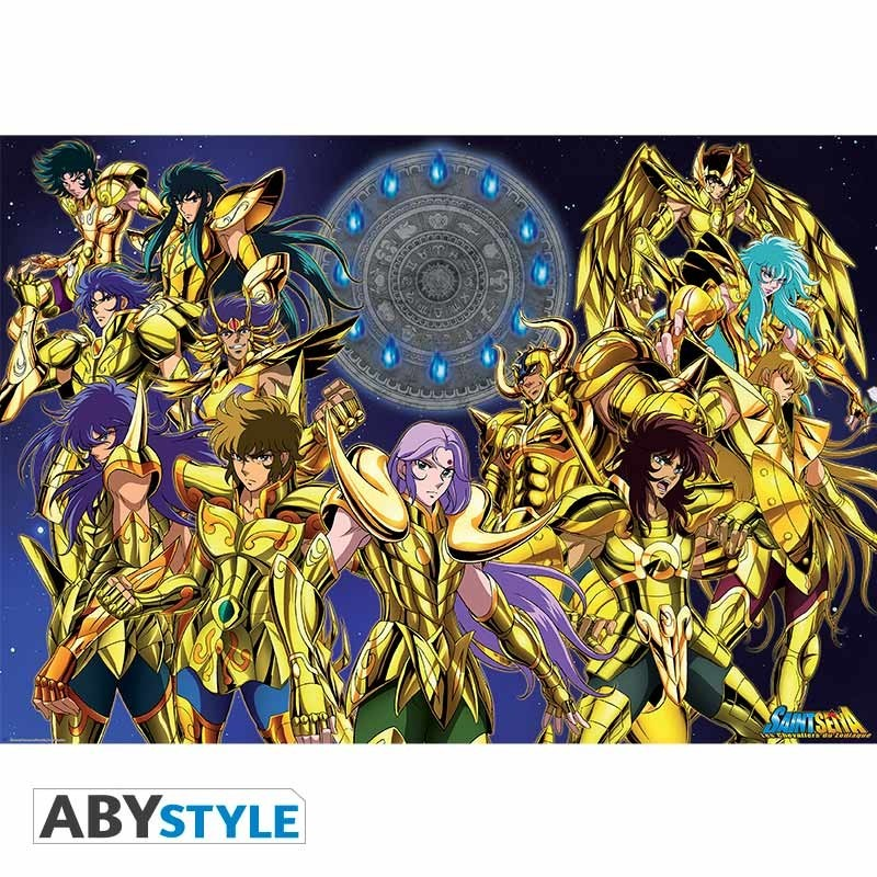 "SAINT SEIYA - Poster ""Gold Saints 1"" (98x68)"