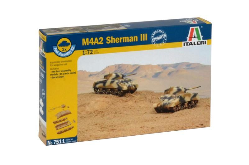 M4A2 Sherman III fast assembly
