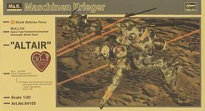 "Space Humanoid Type Unmanned Interceptor Groserhund ""Altair"""