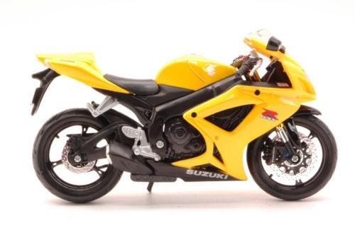 Suzuki GSX R600 Yellow Moto by Maisto
