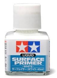 Liquid Surface Primer White Tamiya